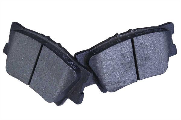 [Rear Set] 2 Brake Rotors & 1 Set Semi Metallic Brake Pads - Part # RSMK41445-41445-1212-2-4