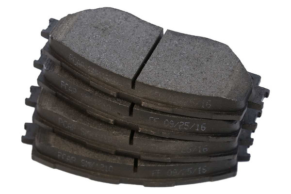 [Front Set] 2 Brake Rotors & 1 Set Semi Metallic Brake Pads - Part # RSMK41507-41507-1210-2-4