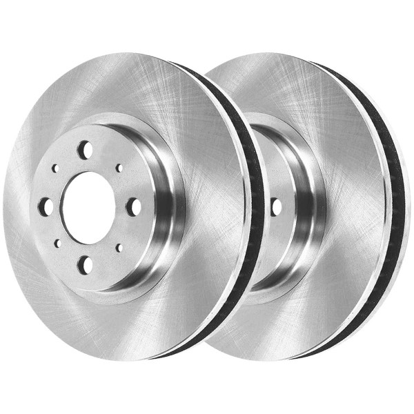 Front Semi Metallic Brake Pad and Rotor Bundle - Part # RSMK4297-4297-465A-2-4