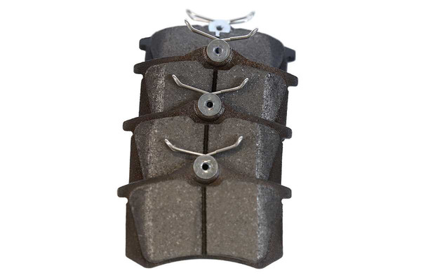 [Rear Set] 2 Brake Rotors & 1 Set Semi Metallic Brake Pads - Part # RSMK44146-44146-340-2-4