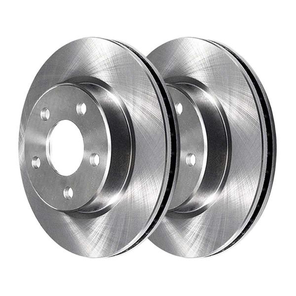 Front Semi Metallic Brake Pad and Rotor Bundle - Part # RSMK63027-63027-1084-2-4