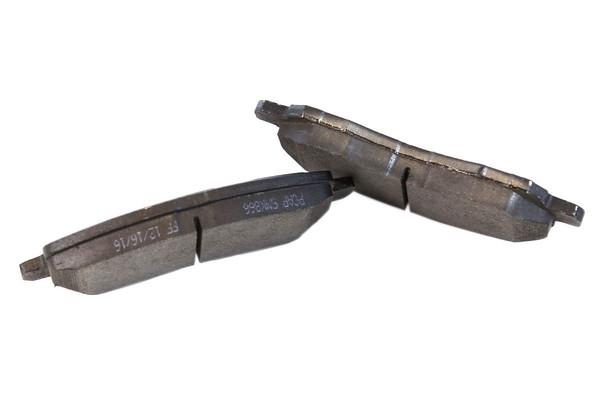 [Front Set] 2 Brake Rotors & 1 Set Semi Metallic Brake Pads - Part # RSMK63040-63040-866-2-4