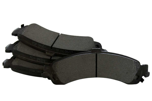 [Rear Set] 2 Brake Rotors & 1 Set Semi Metallic Brake Pads - Part # RSMK65086-65086-834-2-4