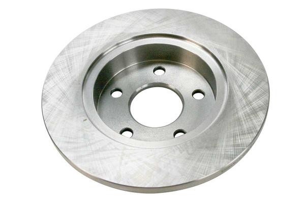[Rear Set] 2 Brake Rotors & 1 Set Semi Metallic Brake Pads - Part # RSMK65096-65096-1033-2-4