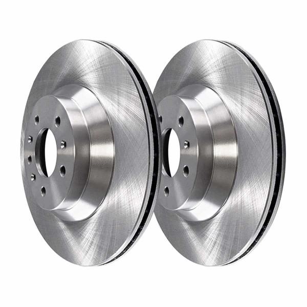 Front Semi Metallic Brake Pad and Rotor Bundle - Part # RSMK65128-65128-1159-2-4