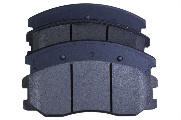 [Front Set] 2 Brake Rotors & 1 Set Semi Metallic Brake Pads - Part # RSMK65150-65150-1264-2-4