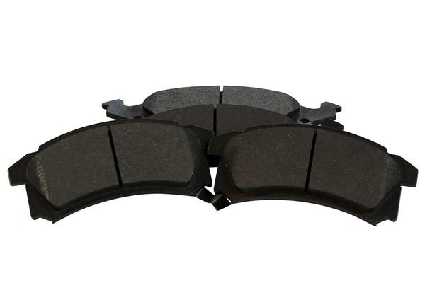 [Front Set] 2 Brake Rotors & 1 Set Semi Metallic Brake Pads - Part # RSMK6582-6582-673-2-4