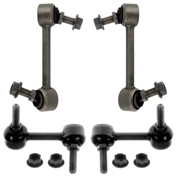 [Front & Rear Set] 4 Sway Bar Links - Part # SBK909-910