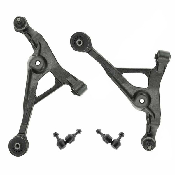 [Set] 2 Front Lower Control Arm With Ball Joints & 2 Sway Bar Links - Part # SBK916-CAK429PR
