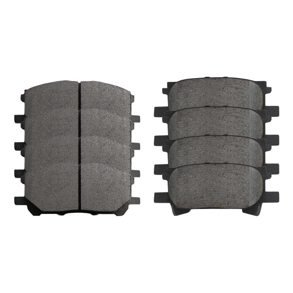 Front and Rear Ceramic Brake Pad Bundle - Part # SCD1005-996