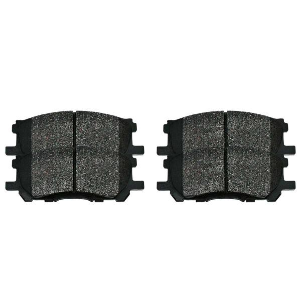 Front Ceramic Brake Pad Set - Part # SCD1005
