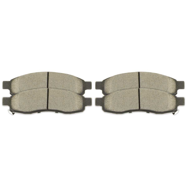 Ceramic Brake Pads - Part # SCD1015