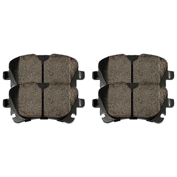 Rear Ceramic Brake Pad Set - Part # SCD1018