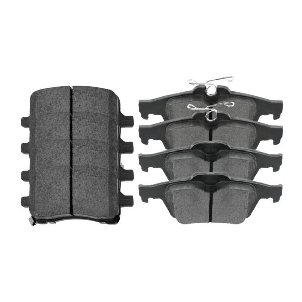 Front and Rear Ceramic Brake Pad Bundle - Part # SCD1028-1095