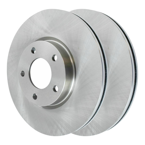 Front Disc Brake Rotors and Ceramic Pads Kit, Driver and Passenger Side - Part # SCD1044-R41375