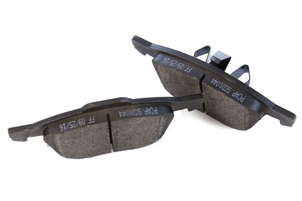 Front Set of Rotors & Ceramic Pads - Part # SCD1044-R64183