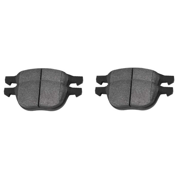 Front Ceramic Brake Pad Set - Part # SCD1044