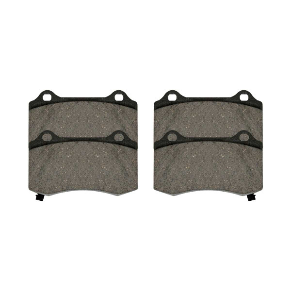 Rear Ceramic Brake Pad Set - Part # SCD1053