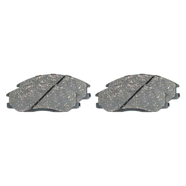 Front Ceramic Brake Pad Set - Part # SCD1056