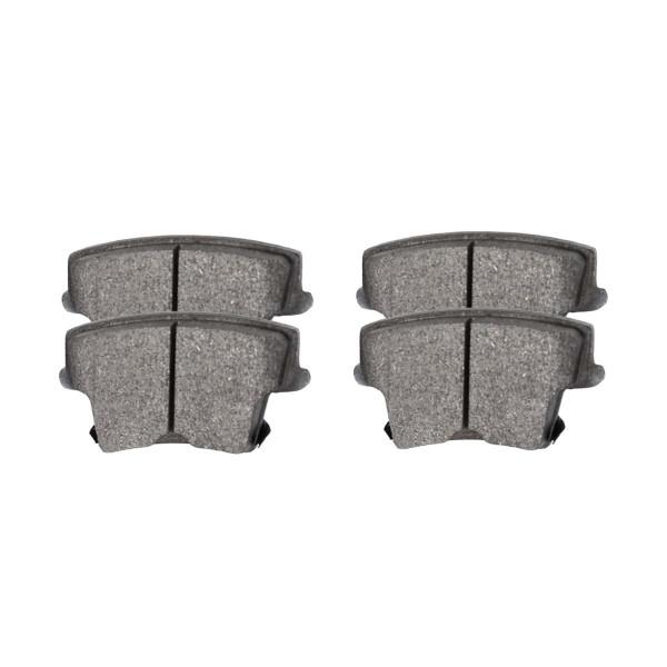 Rear Ceramic Brake Pad Set - Part # SCD1057