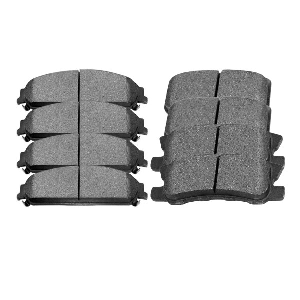 Front and Rear Ceramic Brake Pad Bundle - Part # SCD1058-868