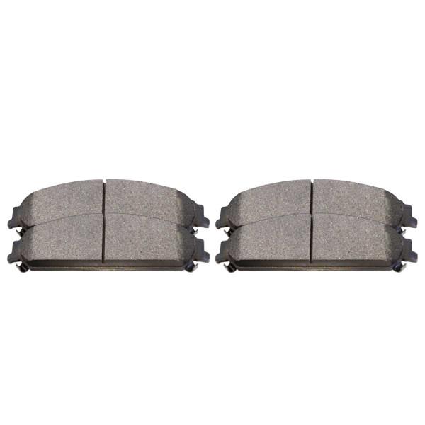 Front Ceramic Brake Pad Set - Part # SCD1058