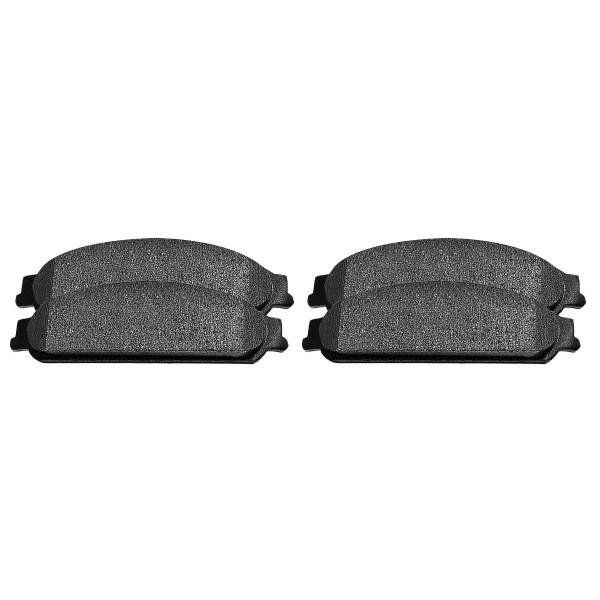 Front Ceramic Brake Pad Set - Part # SCD1070