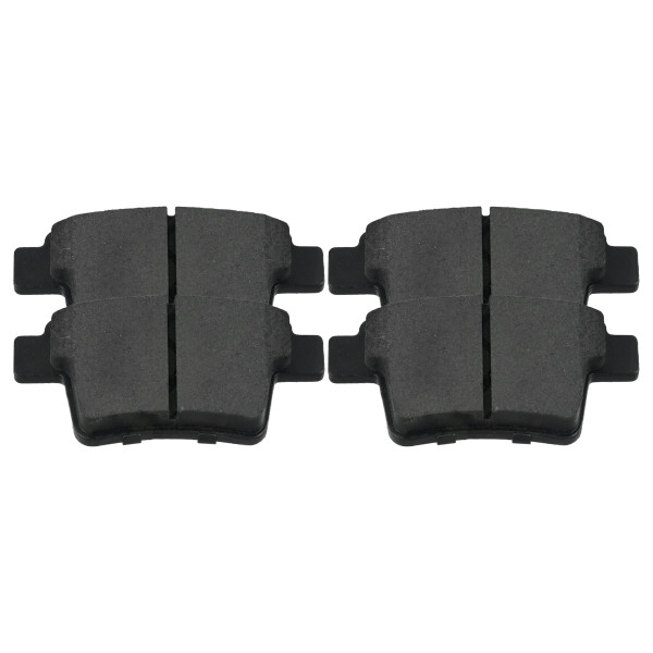 Rear Ceramic Brake Pad Set - Part # SCD1071