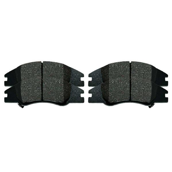 Front Ceramic Brake Pad Set - Part # SCD1074