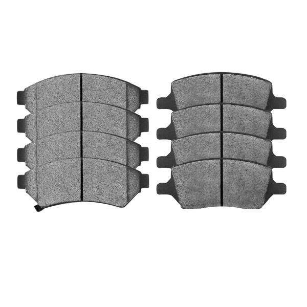 Front and Rear Ceramic Brake Pad Bundle - Part # SCD1075-1093
