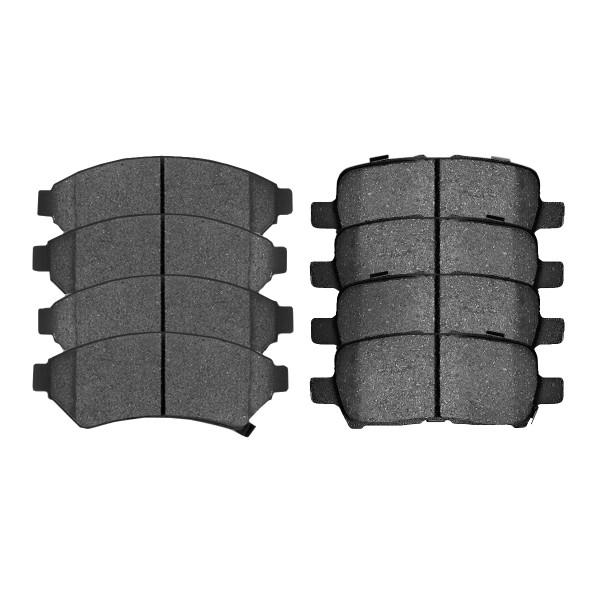 Front and Rear Ceramic Brake Pad Bundle - Part # SCD1075-999