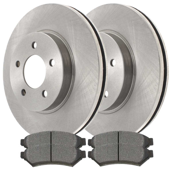 Front and Rear Ceramic Brake Pad and Rotor Bundle - Part # SCD10751539