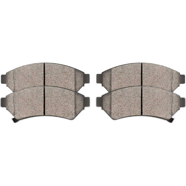 Front Ceramic Brake Pad Set - Part # SCD1075