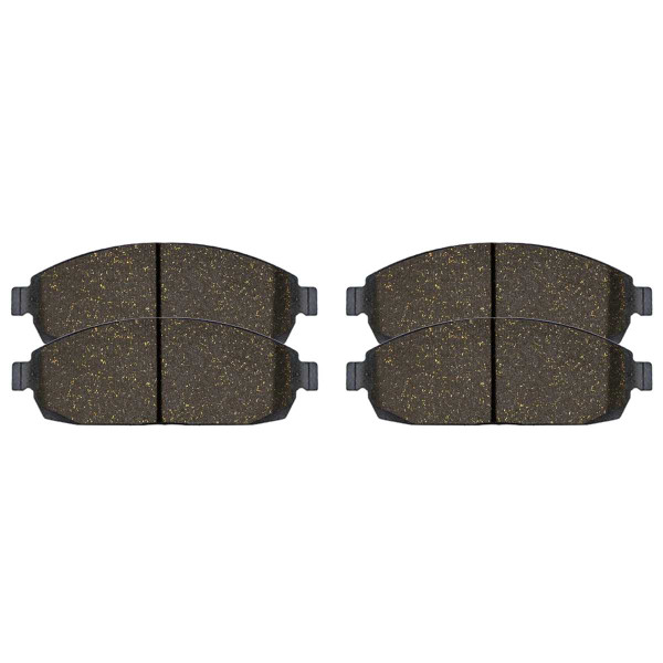 Front Ceramic Brake Pad Set - Part # SCD1080