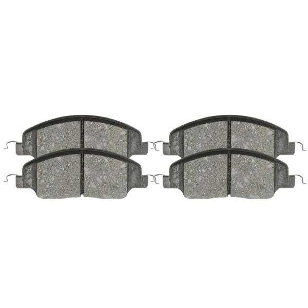 Front Ceramic Brake Pad Set - Part # SCD1081