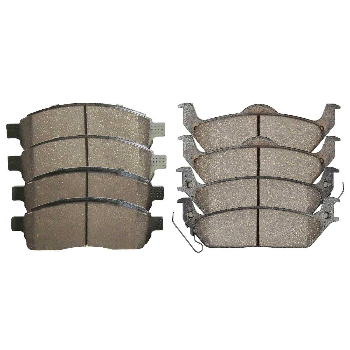 AutoShack SCD1324 Front Ceramic Brake Pads