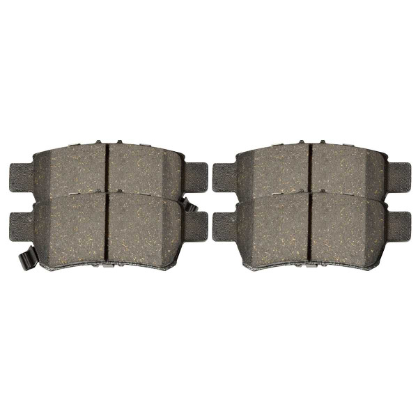 Rear Ceramic Brake Pad Set - Part # SCD1088