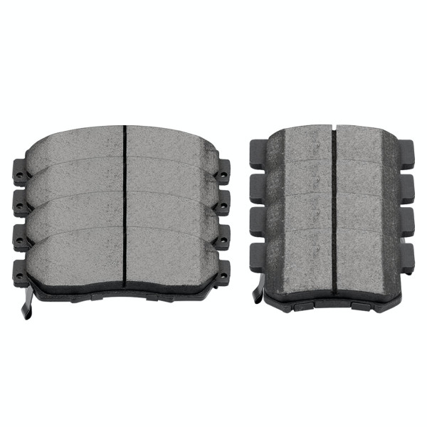 Front and Rear Ceramic Brake Pad Bundle - Part # SCD1089-536