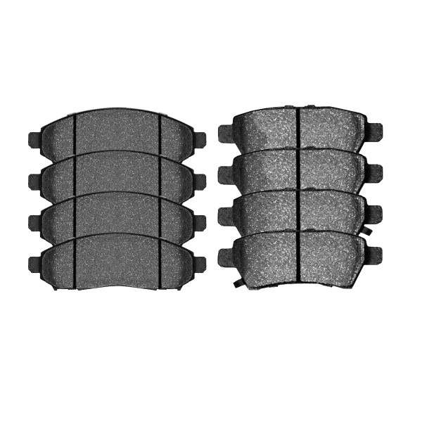 Front and Rear Ceramic Brake Pad Bundle - Part # SCD1094-1101