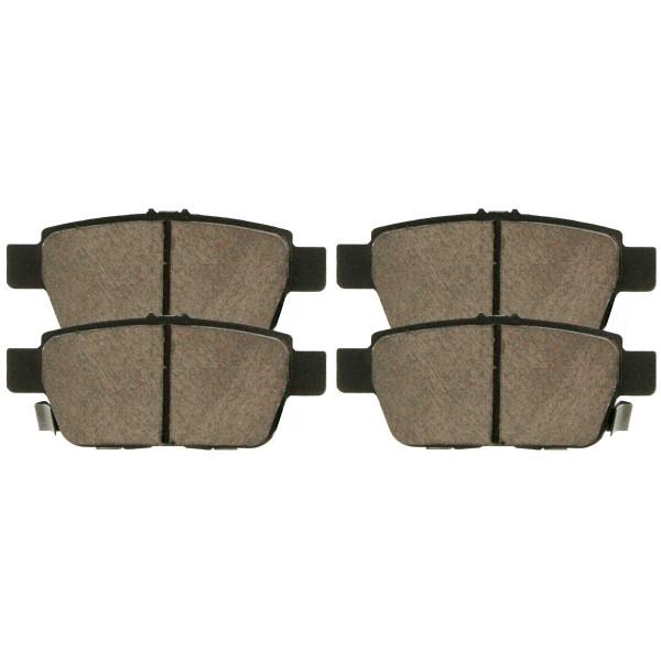 Rear Ceramic Brake Pad Set - Part # SCD1103
