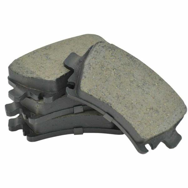 Rear Ceramic Brake Pad Set - Part # SCD1108