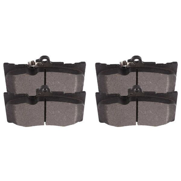 Front Ceramic Brake Pad Set - Part # SCD1118
