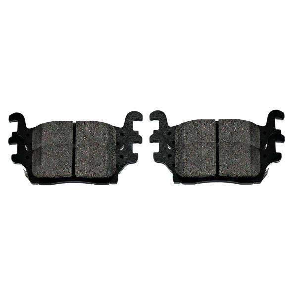 Rear Ceramic Brake Pad Set - Part # SCD1120