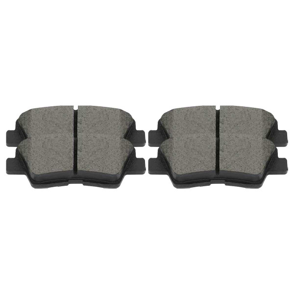 Front and Rear Ceramic Brake Pad Bundle - Part # SCD1125-1313