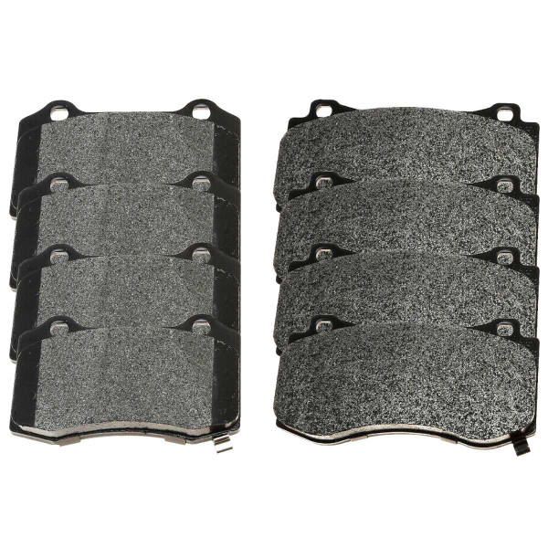 Front and Rear Ceramic Brake Pad Bundle - Part # SCD1149-1053