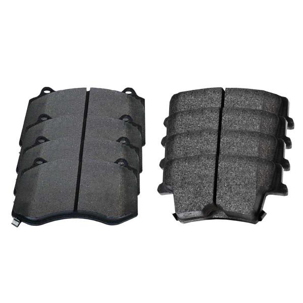 Front and Rear Ceramic Brake Pad Bundle 6.1L - Part # SCD1149-1057