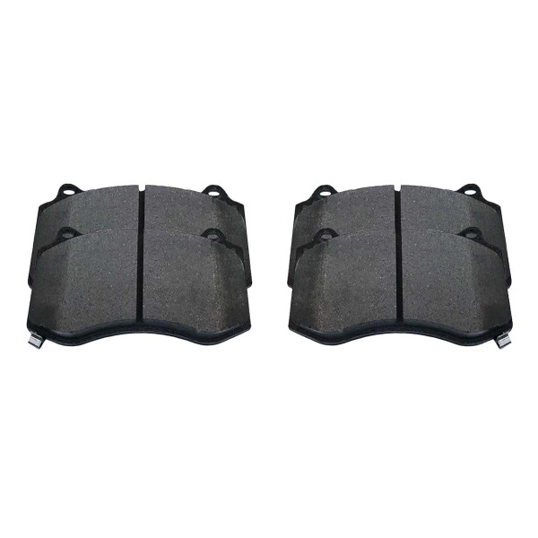 Front Ceramic Brake Pad Set - Part # SCD1149