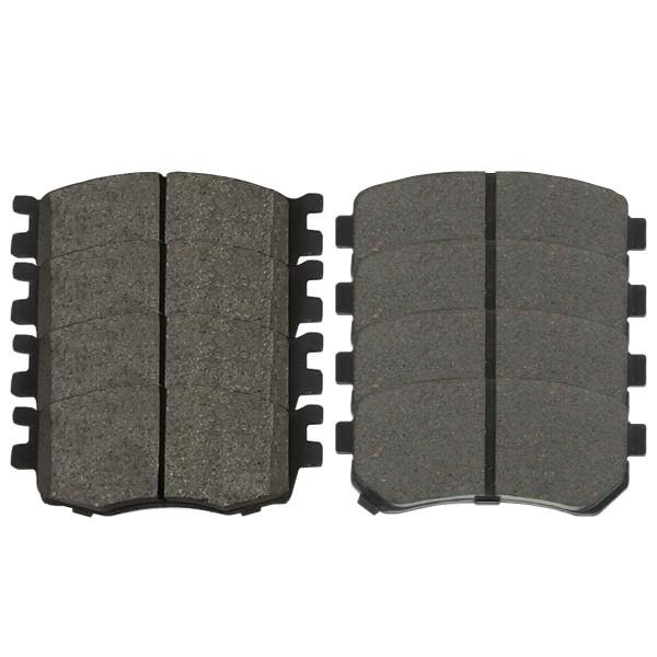 Front and Rear Ceramic Brake Pad Bundle - Part # SCD1156-1157