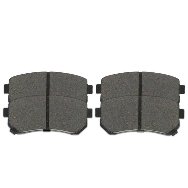 Rear Ceramic Brake Pad Set 4 Wheel Disc - Part # SCD1157