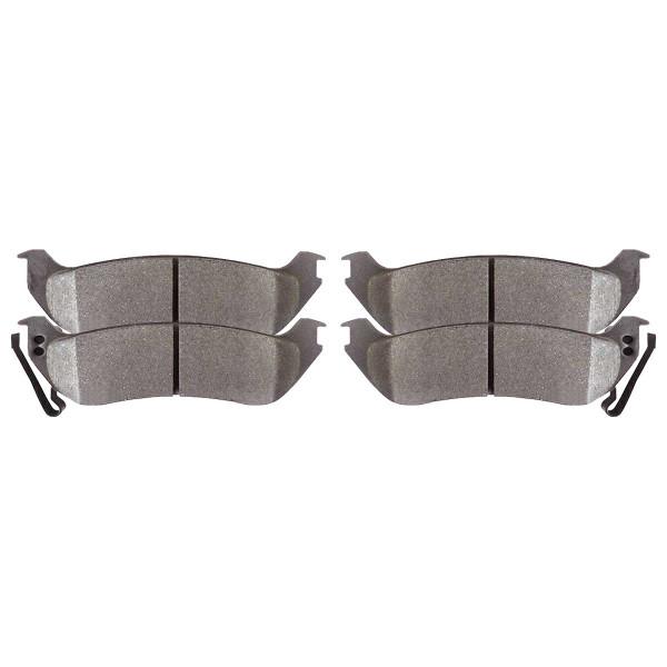 Front and Rear Ceramic Brake Pad Bundle - Part # SCD1158-981